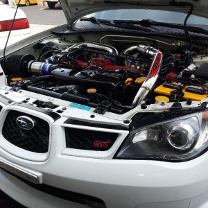 Subaru WRX STI EJ 257 Engine replacement